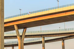 Motorway, Expressway, the infrastructure for transportation in T Royalty Free Stock Photography