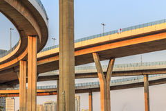 Motorway, Expressway, the infrastructure for transportation in T Stock Photography