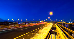 Motorway fly-over Stock Images