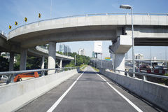Motorway flyover Royalty Free Stock Photos