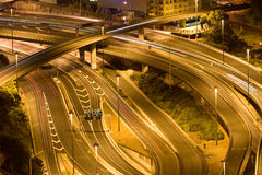 Motorway interchange Stock Photos