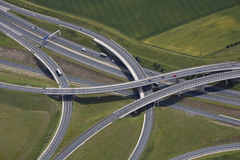 Motorway junction royalty free stock image