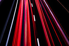Motorway long time exposure Stock Image