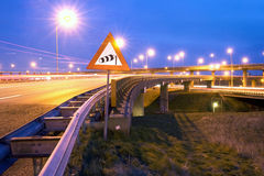 Motorway overpass Royalty Free Stock Image