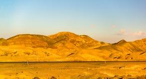 Motorway Tehran - Isfahan in Karkas Mountains Stock Photos