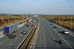 Motorway Traffic Stock Images