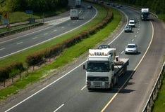 Motorway traffic. Naas, Ireland, June 11, 2005. Traffic on the N7 motorway Stock Photos