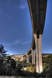 Motorway viaduct Royalty Free Stock Image