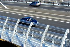 Motorway viaduct Royalty Free Stock Photos