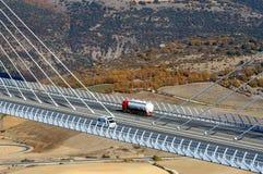 Motorway viaduct Royalty Free Stock Images