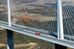 Motorway viaduct Stock Photo