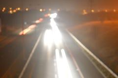 Motorwayabstrakt begrepp Arkivfoto