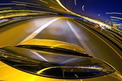 motorwayoverpass royaltyfria foton