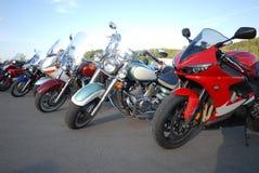 Motos Photographie stock libre de droits