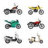 Motos et scooters Photos libres de droits