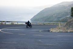 Motos sur la route Image stock