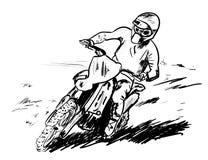Motosport 图库摄影