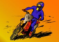 Motosport 免版税图库摄影