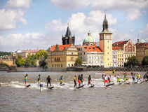 Motosurf World Cup Prague stock image