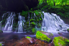 Mototakihukuryuusui Falls, Japan. Stock Image