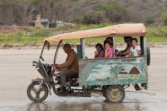 Mototaxi op Strand Stock Afbeeldingen