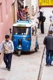 Mototaxi in Peru lizenzfreies stockfoto
