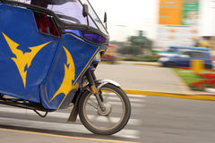 Mototaxi in speed Royalty Free Stock Image