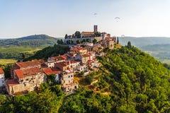 Motovun - la Croazia Immagine Stock Libera da Diritti