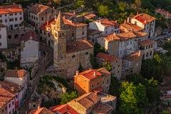 Motovun - Хорватия стоковые изображения