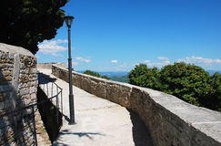 Motovun City Walls Stock Photo
