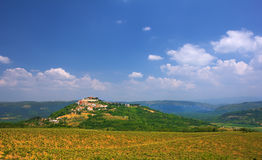 Motovun, Croatia Stock Photography