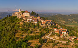 Motovun - Croatia stock photography