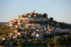MOTOVUN, CROATIA. View of Medieval town Motovun, Croatia Stock Photos