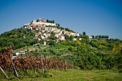 Motovun, Croatie Photographie stock