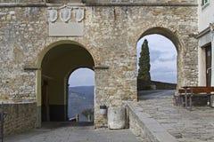 Motovun em Istria imagem de stock royalty free