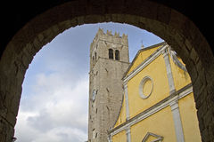 Motovun in Istria Royalty Free Stock Photos