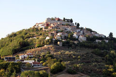 Motovun in Istria Stock Photos