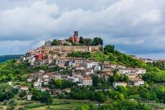 Motovun, Istria, Croatia. Motovun is a village in central Istria, Croatia royalty free stock images