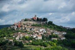 Motovun, Istria, Croatia. Motovun is a village in central Istria, Croatia royalty free stock photos