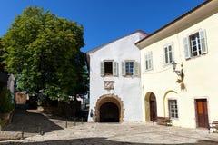 Motovun, Kroatien lizenzfreies stockbild