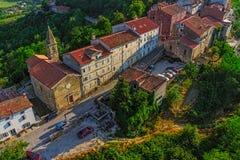Motovun - la Croatie photographie stock