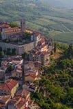 Motovun - la Croatie image stock