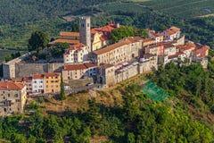 Motovun - la Croatie image libre de droits
