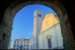 Motovun medieval town Stock Photos