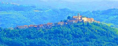 Motovun, in Istria region, Croatia. Motovun, picturesque place in Istria, Croatia royalty free stock photography