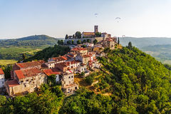 Motovun - Croatia royalty free stock image