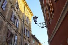 Motovun stad, istria Royaltyfria Bilder