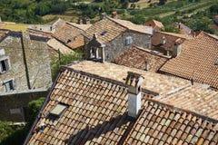 Motovun town, istria. Motovun/Montona is a medieval town in central Istria, Croatia Royalty Free Stock Photography