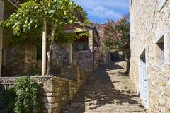 Motovun town, istria. Motovun/Montona is a medieval town in central Istria, Croatia Stock Images