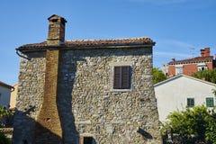 Motovun town, istria. Motovun/Montona is a medieval town in central Istria, Croatia royalty free stock image